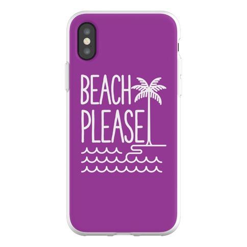 Beach Please Phone Flexi-Case