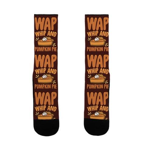 WAP Whip and Pumpkin Pie Parody Sock