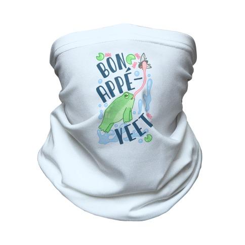 Bon Appe-YEET Frog Neck Gaiter