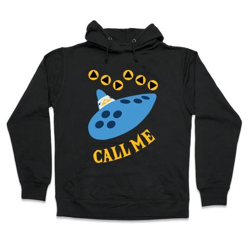 Call Me Zelda Ocarina Hooded Sweatshirt