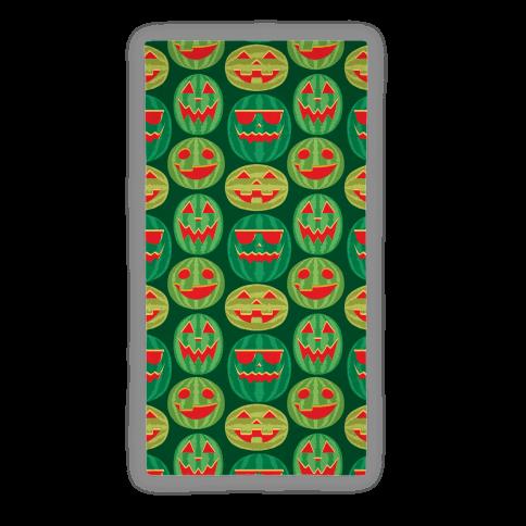 Jack-o-Melon Pattern Beach Towel