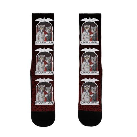 Supurrnatural Sock