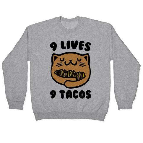 9 Lives 9 Tacos Pullover