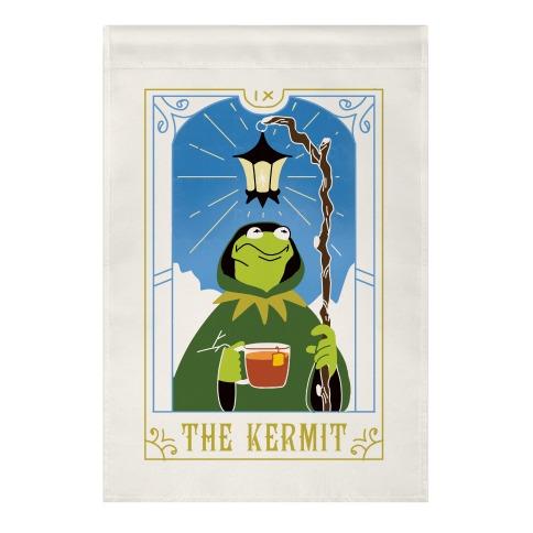 The Kermit Tarot Card Garden Flag