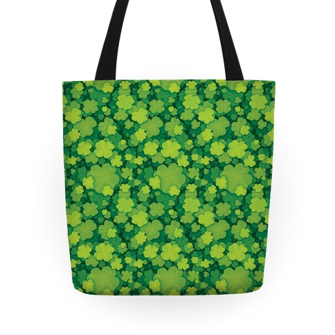 Clover Patch Pattern Tote