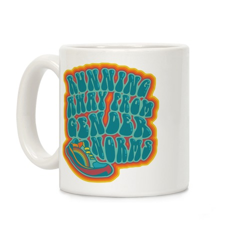 Running Away From Gender Norms Coffee Mug