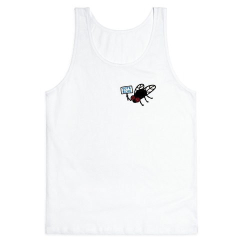 Vote Blue Fly Tank Top