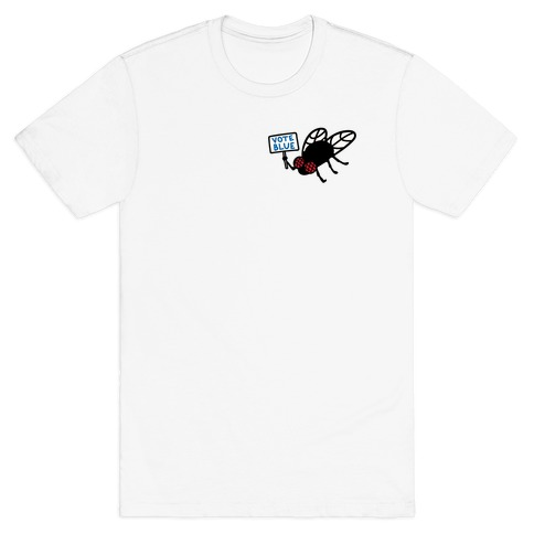 Vote Blue Fly T-Shirt