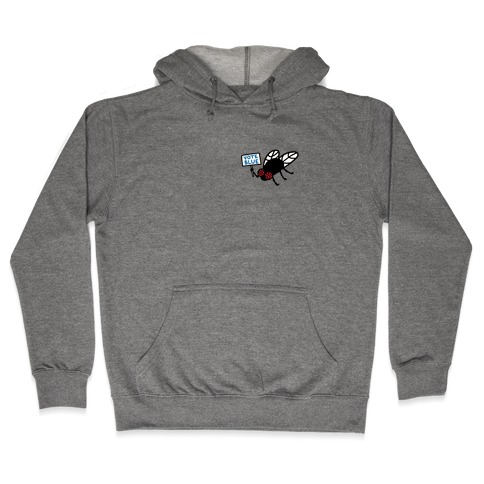 Vote Blue Fly Hooded Sweatshirt