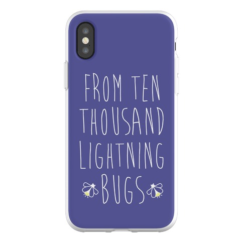 From Ten Thousand Lightning Bugs Phone Flexi-Case