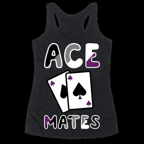 Ace Mates A Racerback Tank Top