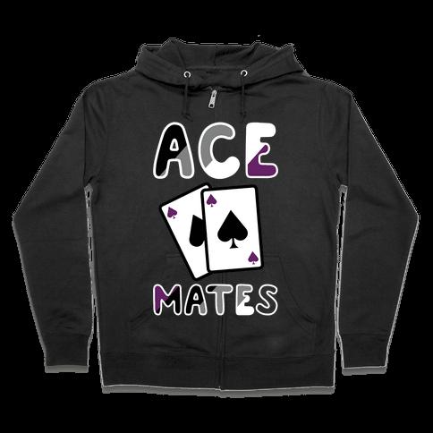 Ace Mates A Zip Hoodie