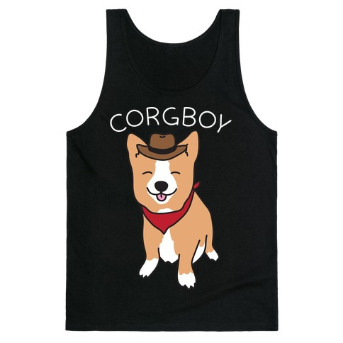 Corgboy Cowboy Corgi Tank Top