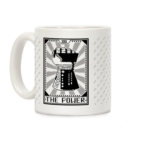 The Power Card Coffee Mug