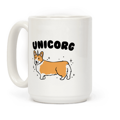 Unicorg Parody Coffee Mug