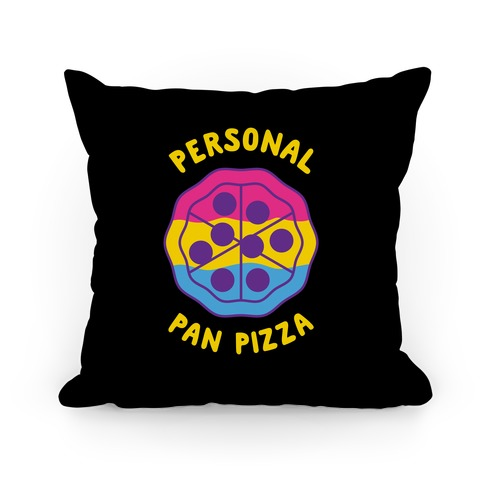 Personal Pan Pizza Pillow