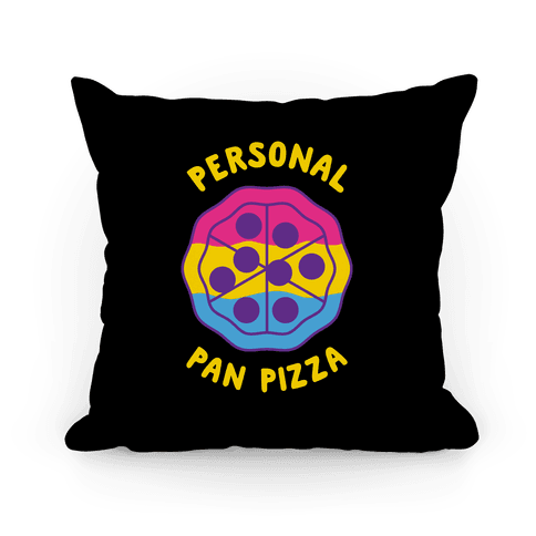 Personal Pan Pizza Pillow