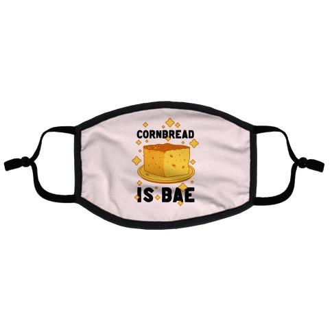 Cornbread is Bae Flat Face Mask