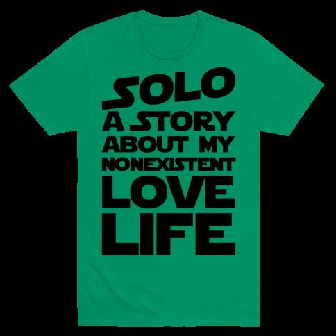 Solo Parody  Mens T-Shirt