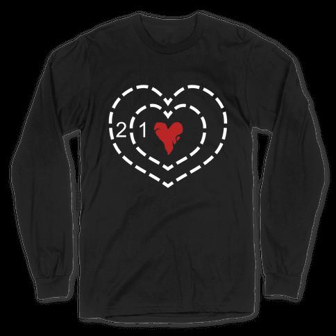 The Grinch's Heart Long Sleeve T-Shirt