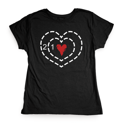 The Grinch's Heart Womens T-Shirt