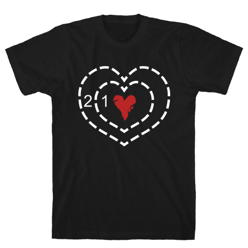 The Grinch's Heart Mens/Unisex T-Shirt