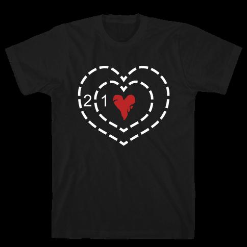 The Grinch's Heart Mens T-Shirt