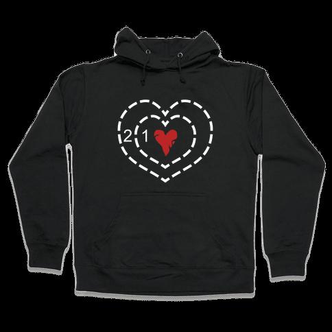 The Grinch's Heart Hooded Sweatshirt