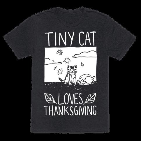 Tiny Cat Loves Thanksgiving