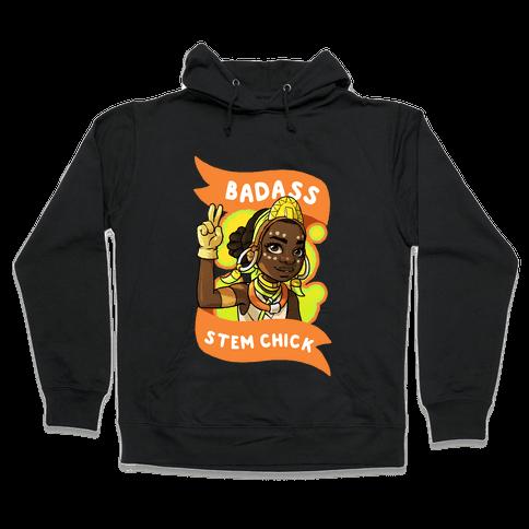 Badass STEM Chick Hooded Sweatshirt