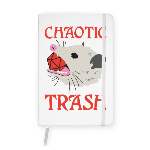 Chaotic Trash (Opossum) Notebook