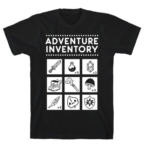 Adventure Inventory T-Shirt