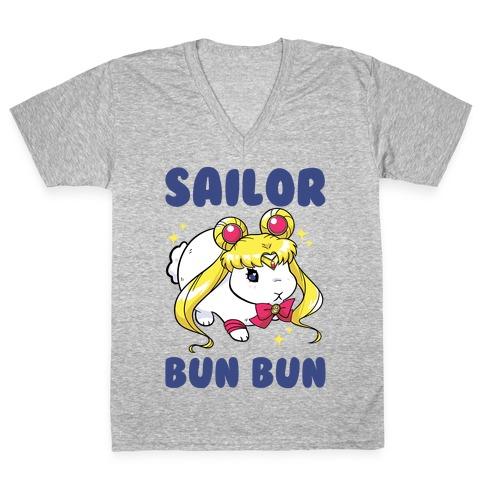Sailor BunBun V-Neck Tee Shirt