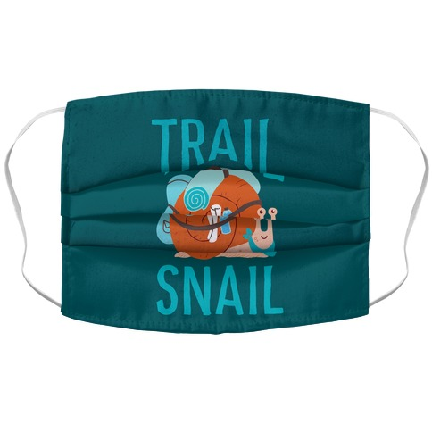 Trail Snail Accordion Face Mask