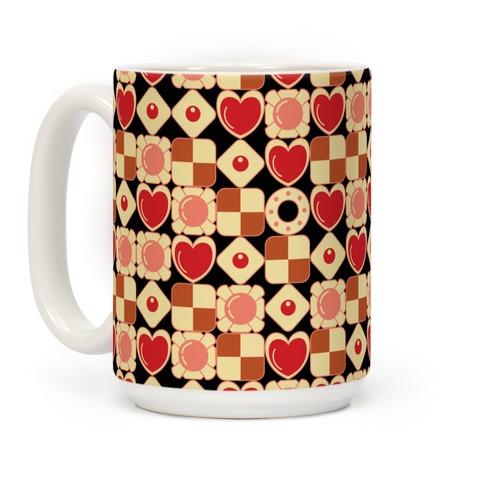 Gamer Cookies Pattern Coffee Mug