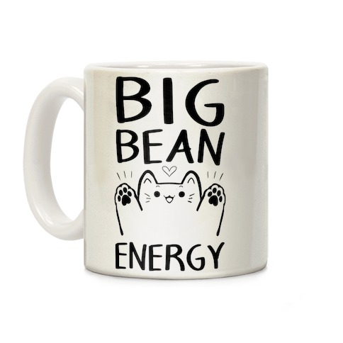 Big Bean Energy Coffee Mug