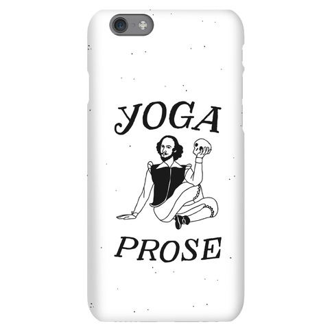 Yoga Prose Phone Case