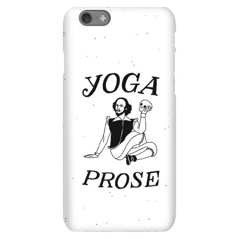 Yoga Prose Phone Case