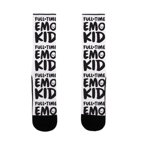 Full-time Emo Kid Sock