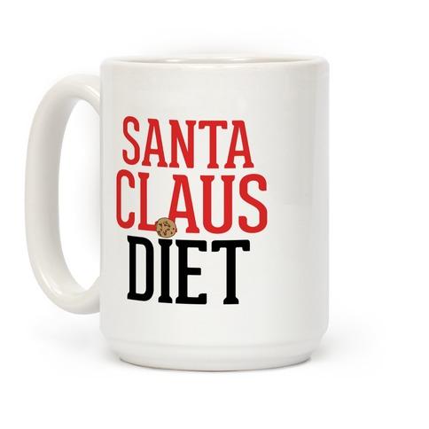 Santa Claus Diet Parody Coffee Mug