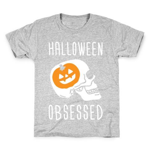 Halloween Obsessed Kids T-Shirt