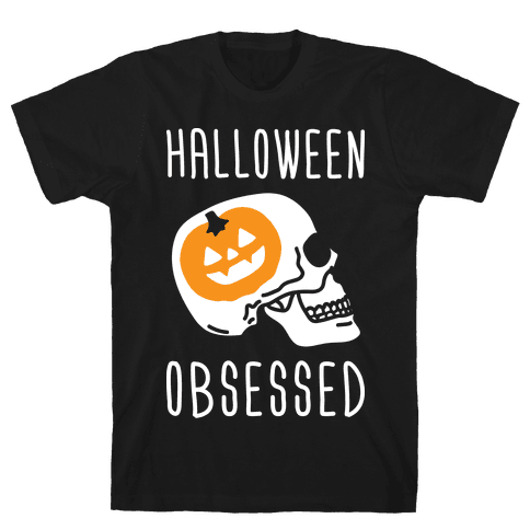 Halloween Obsessed Mens T-Shirt