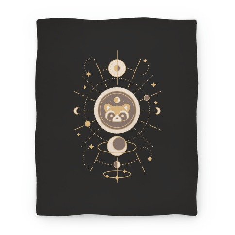 Raccoon Moon Blanket