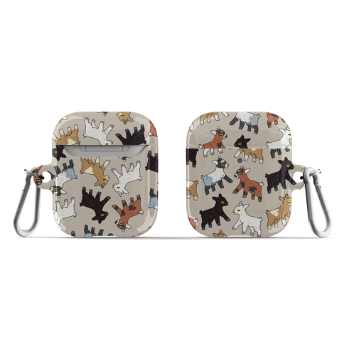 Baby Goats On Baby Goats Pattern AirPod Case