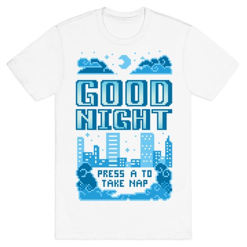 Good Night Game Over Screen T-Shirt