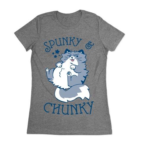 Spunky & Chunky Womens T-Shirt