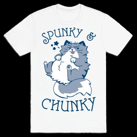 Spunky & Chunky Mens/Unisex T-Shirt