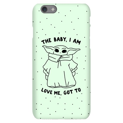 The Baby, I Am Phone Case