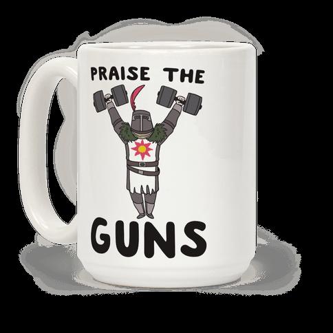 Praise the Guns - Dark Souls Coffee Mug