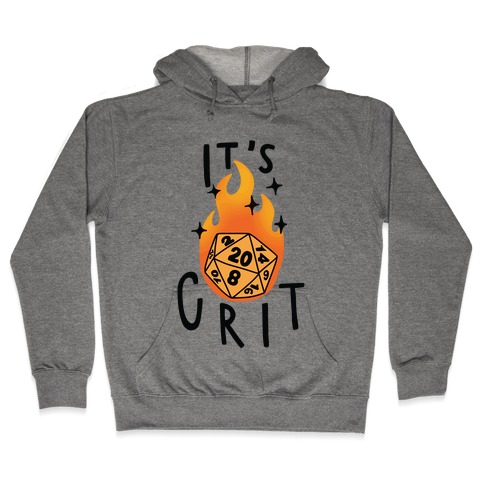 It's Crit Hooded Sweatshirt